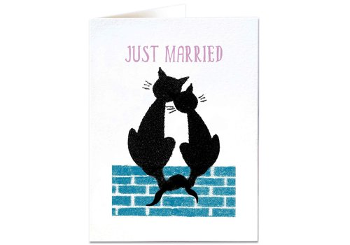 Archivist Gallery Archivist Gallery - Just Married Cats - Greeting Cards