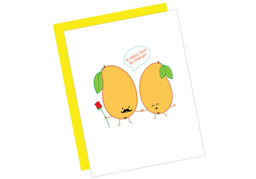 Queenie's Cards Queenie's - It Takes Two to Mango