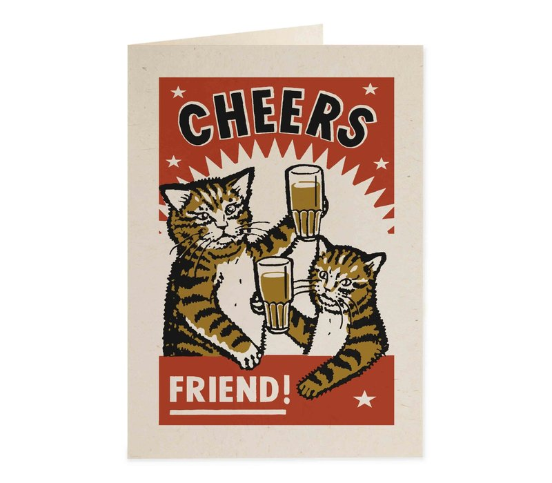 Archivist Gallery - Cheers - Greeting Card