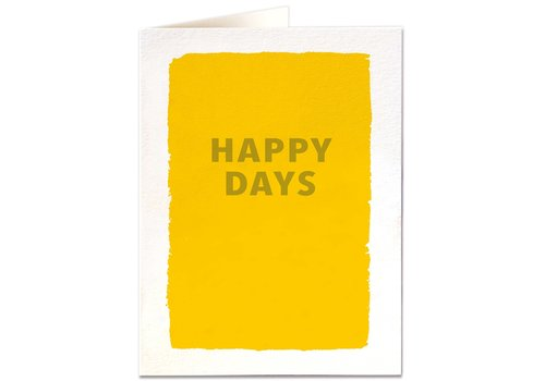 Archivist Gallery Archivist Gallery - Happy Days - Greeting Card