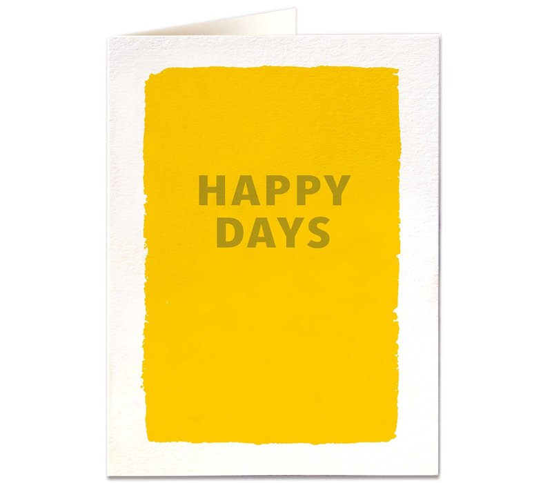Archivist Gallery - Happy Days - Greeting Card