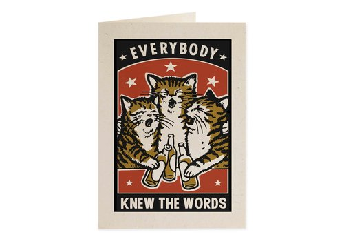 Archivist Gallery Archivist Gallery - Know Words - Greeting Card