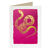 Archivist Gallery Archivist Gallery - Pink Snake - Greeting Card