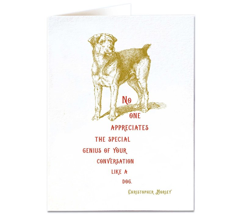 Archivist Gallery - Special Genius - Greeting Card