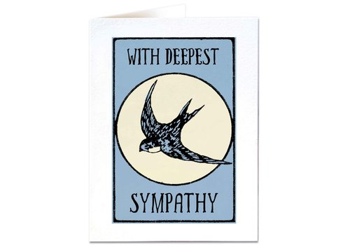 Archivist Gallery Archivist Gallery - Swallow Sympathy - Greeting Card