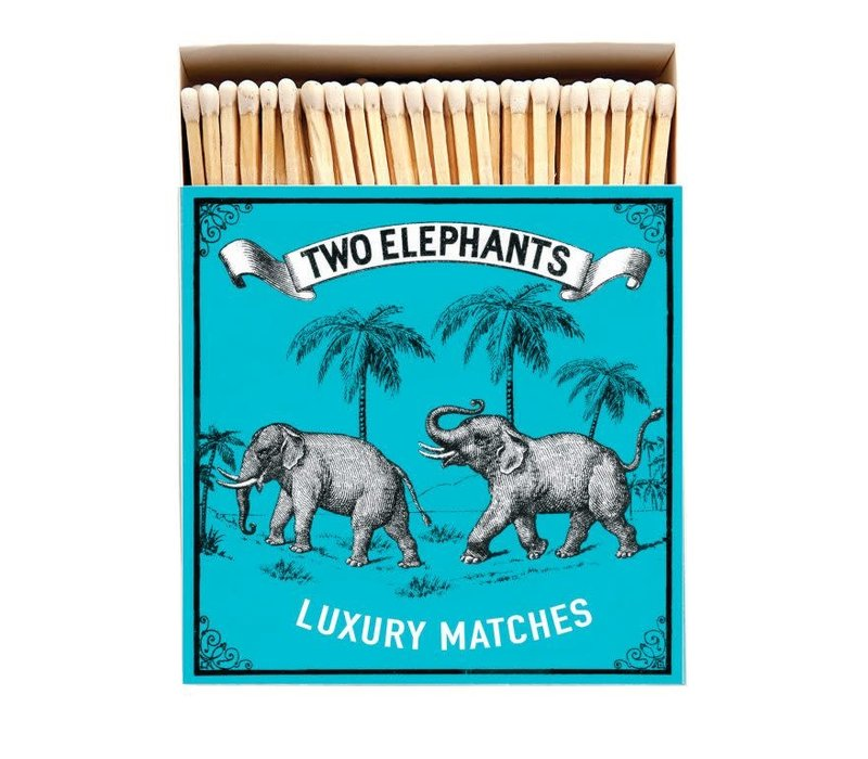 Archivist Gallery - Two Elephants - Matches