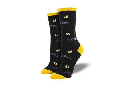 Socksmith Socksmith - Eyeing You Black - Womens Socks