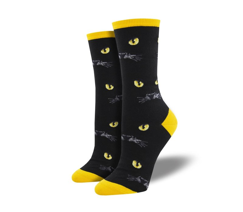 Socksmith - Eyeing You Black - Womens Socks