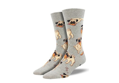 Socksmith Socksmith - Mans Best Friend Gray - Men's Socks