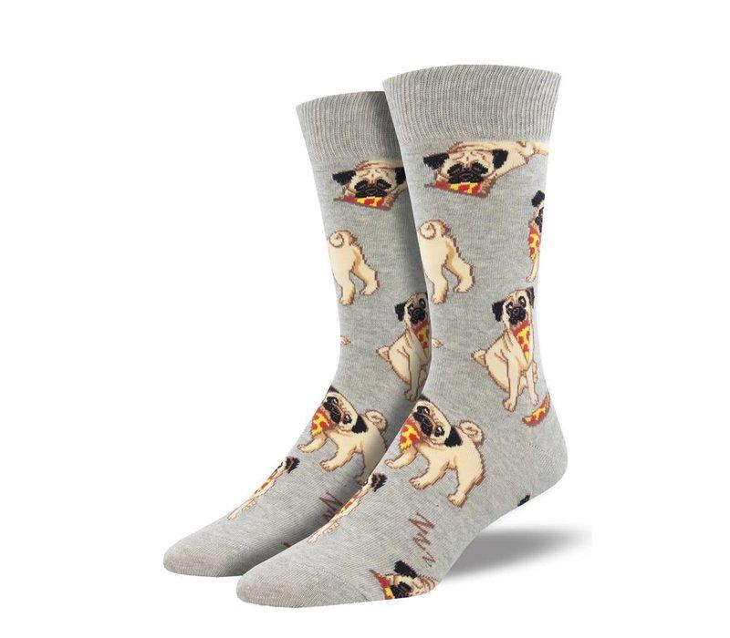 Socksmith - Mans Best Friend Gray - Men's Socks