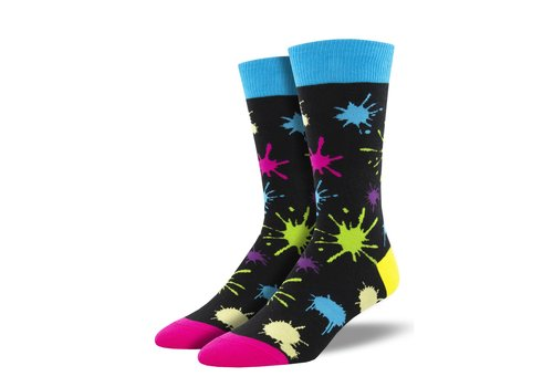 Socksmith Socksmith - Paintball Black - Men's Socks