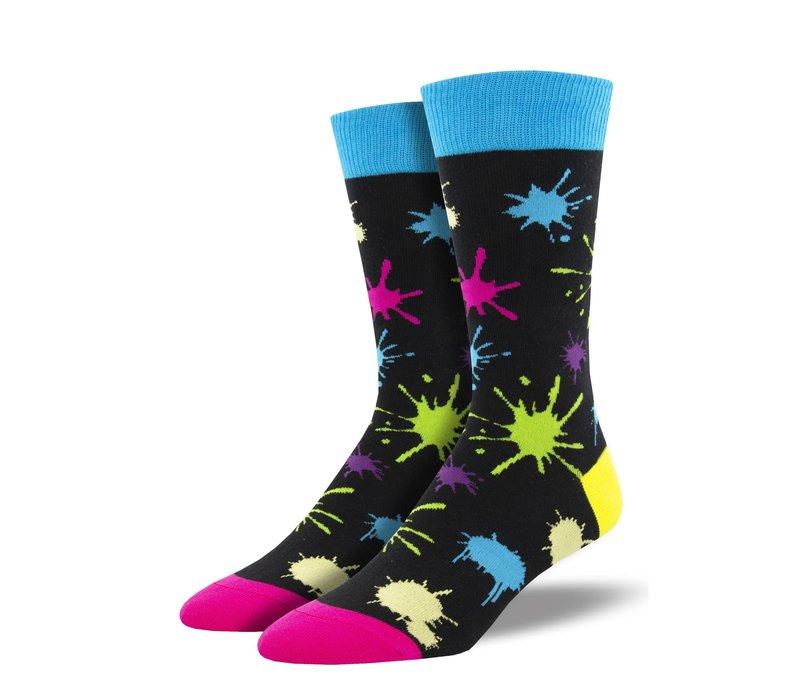 Socksmith - Paintball Black - Men's Socks