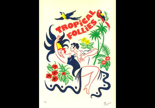 El Marquès El Marquès - Tropical Frollies - A3 Risograph