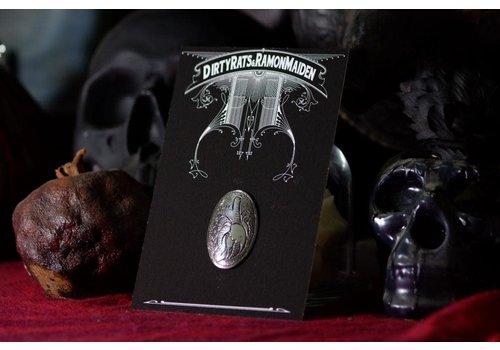 Six Zeros SixZeros & Ramon Maiden - Heart Brooch - Sterling Silver