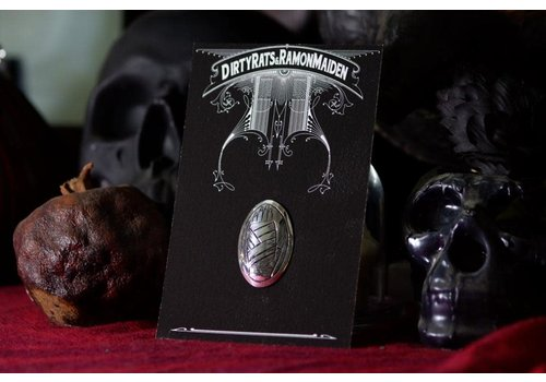 Six Zeros SixZeros & Ramon Maiden - Hand Brooch - Sterling Silver