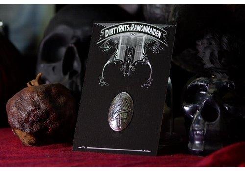 Six Zeros SixZeros & Ramon Maiden - Snake Brooch - Sterling Silver