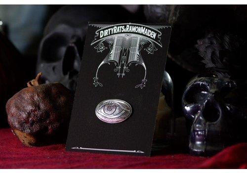 Six Zeros SixZeros & Ramon Maiden - Eye Brooch - Sterling Silver