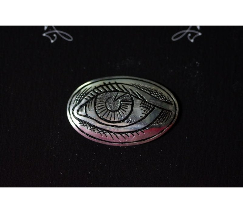 SixZeros & Ramon Maiden - Eye Brooch - Sterling Silver