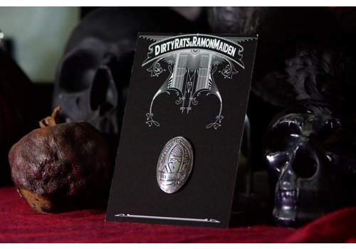 Six Zeros SixZeros & Ramon Maiden - Mask Brooch - Sterling Silver