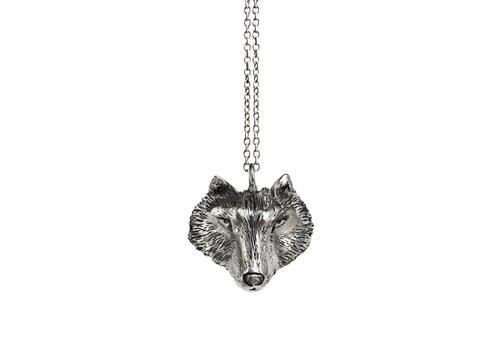 Michi Roman Michi Roman - Wolf Necklace Silver
