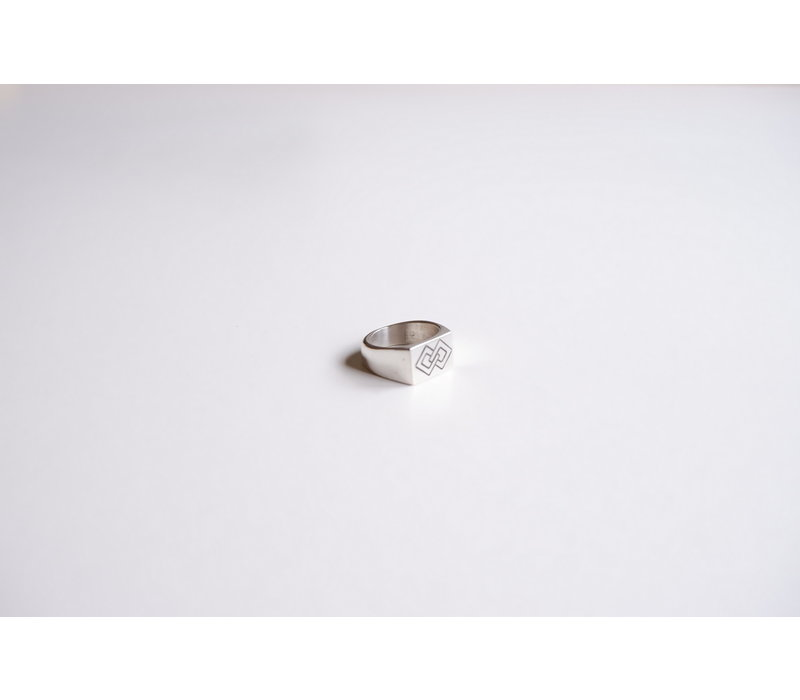 SixZeros - Linked Ring - Silver