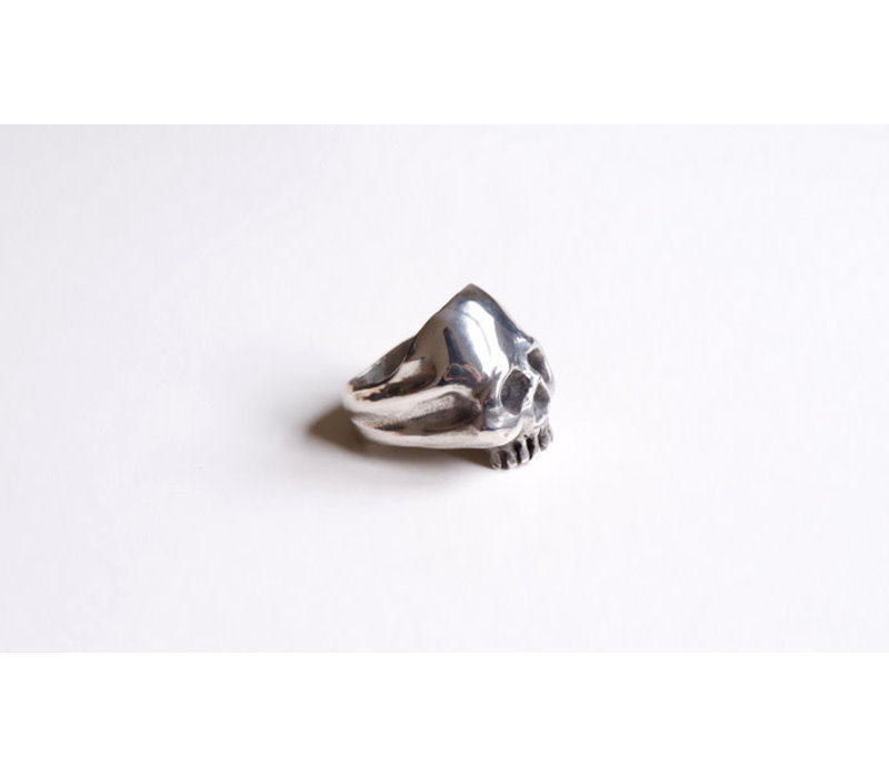 SixZeros - Skull Ring - Silver