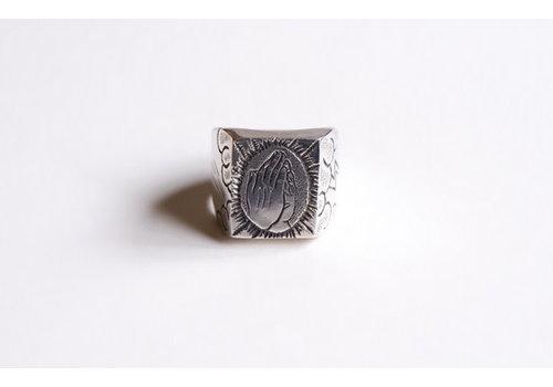 Six Zeros Six Zeros - Pray Ring - Silver