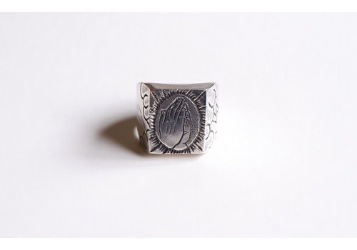 Six Zeros SixZeros - Pray Ring - Silver