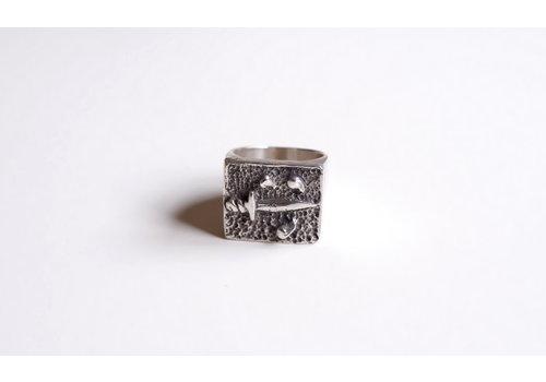 Six Zeros Six Zeros - Puñal Ring - Silver