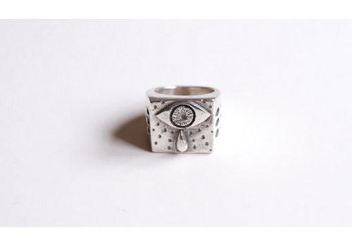 Six Zeros SixZeros - Ojo Ring - Silver