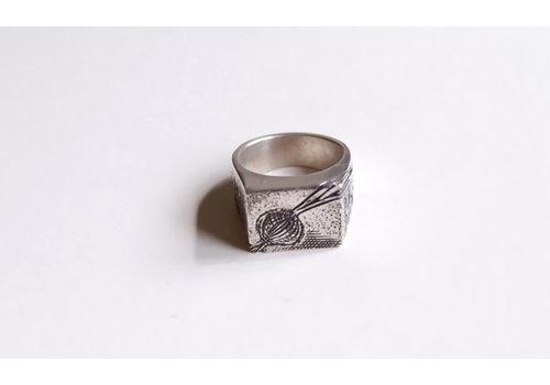 Six Zeros Six Zeros - Plant Based Ring - Silver