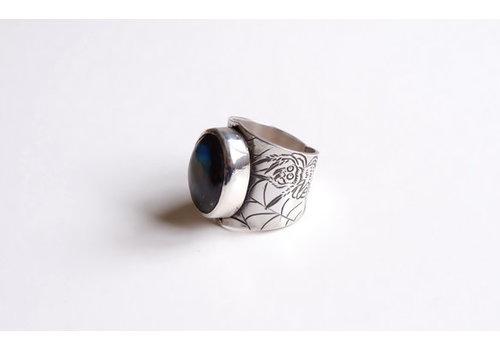 Six Zeros Six Zeros - Arañas Ring - Silver