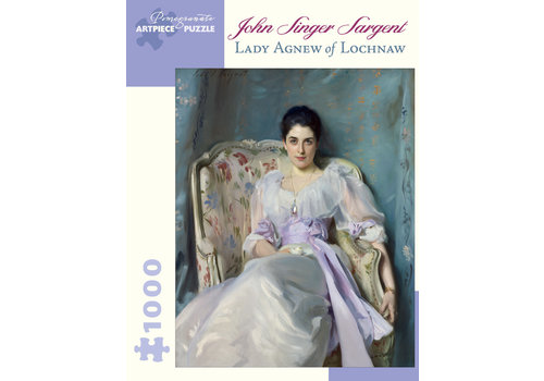 "Pomegranate Pomegranate - John Singer Sargent  ""Lady Agnew of Lochnaw : 1000 Piece Jigsaw Puzzle"