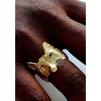 Michi Roman - Fox Ring - Gold Plated Silver