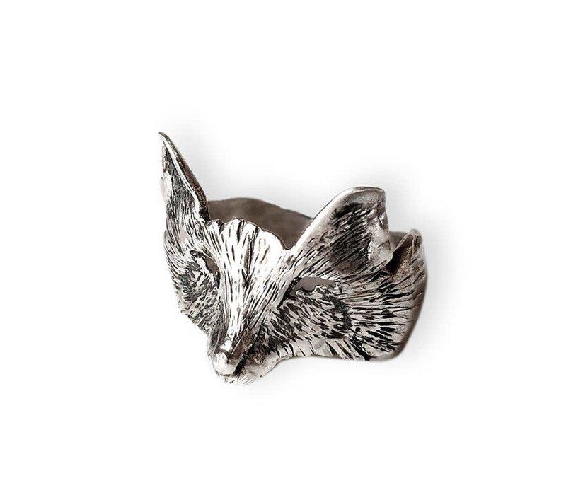 Michi Roman - Fox Ring - Sterling Silver