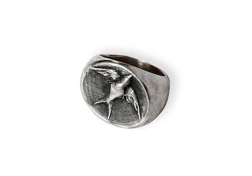 Michi Roman Michi Roman - Swallow Ring - Sterling Silver