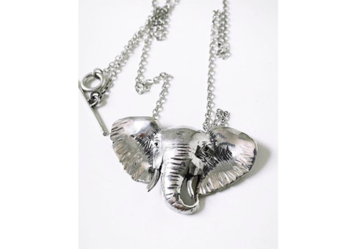 Michi Roman Michi Roman - Elephant Necklace - Sterling Silver