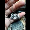 Michi Roman Michi Roman - Raccoon Necklace Sterling Silver