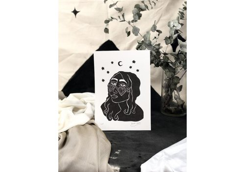 Hanako Mimiko Hanako Mimiko - Carmen - A4 Print