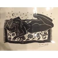 Hanako Mimiko - Dolce Far Niente II - A3 Print