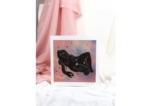 Hanako Mimiko Hanako Mimiko - Marbled VIII - Print