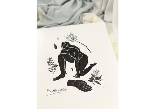 Hanako Mimiko Hanako Mimiko - Meiga - A3 Print