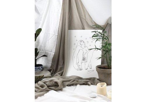 Hanako Mimiko Hanako Mimiko - Origen - A3 Print