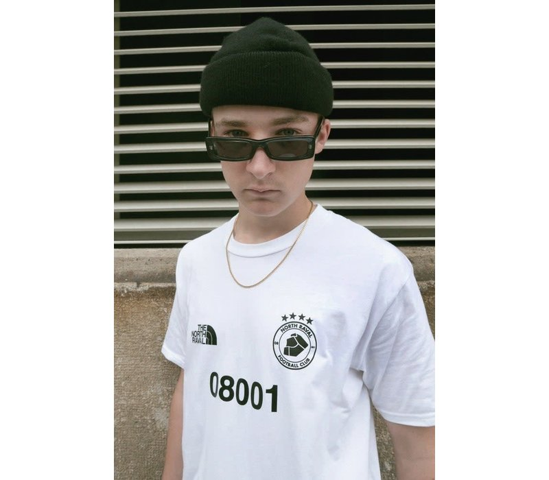 The North Raval - Football T-Shirt - White