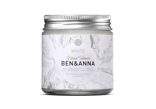 Ben&Anna Ben & Anna - Toothpaste - White - 100ml