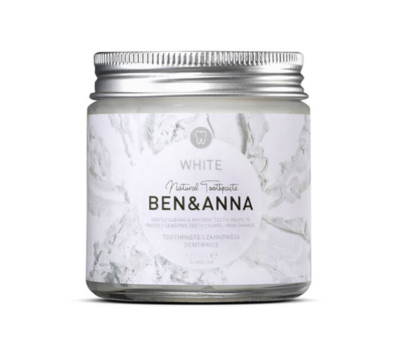 Ben & Anna - Toothpaste - White - 100ml
