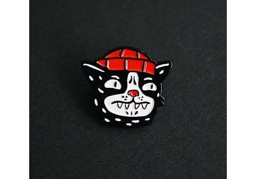 Gomaloca Gomaloca - Bandit Cat Enamel Pin