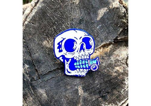 Gomaloca Gomaloca - Skull Grenade Enamel Pin