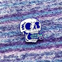 Gomaloca - Skull Grenade Enamel Pin