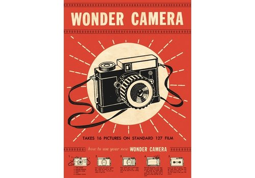 Cavallini Papers & Co Cavallini - Wonder Camera - Wrap/Poster